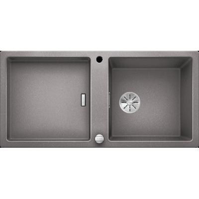 Кухонная мойка Blanco ADON XL 6 S SILGRANIT PuraDur® алюметаллик 525349