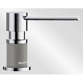 Дозатор жидкого моющего средства Blanco LATO хром/аллюметалик 525811
