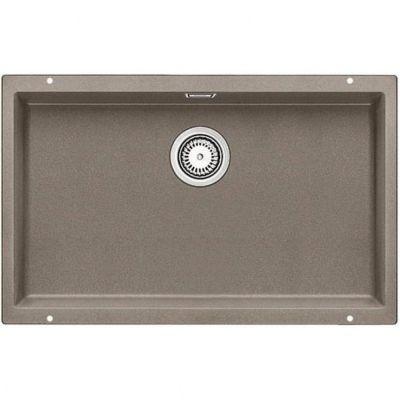 Кухонная мойка Blanco SUBLINE 700-U SILGRANIT® PuraDur® silgr.PD серый беж с кл.авт 517437