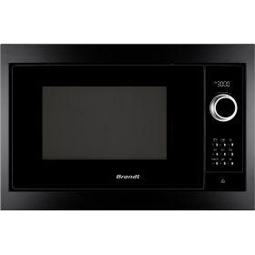 Встраиваемая микроволновая печь Brandt BMS6115B - 26л./900Ватт/ цифровой дисплей/черный
