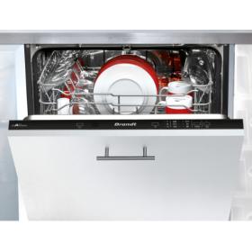 Встраиваемая посудомоечная машина Brandt VH1744J/60 см./ 14 компл./6 прогр./полн.AquaBlock/дисплей/А++
