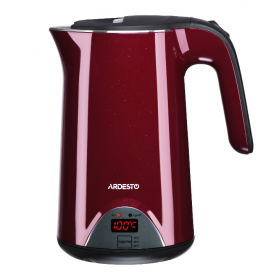Электрочайник Ardesto EKL-1617CH 1.7л/1800Вт/LED-дисплей/вишневый