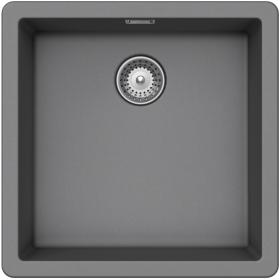 Кухонная мойка Schock BROOKLYN N-100 CRISTALITE+ Croma-49 (Серый)