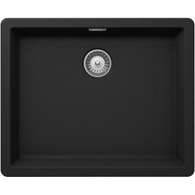 Кухонная мойка Schock BROOKLYN N-100L CRISTALITE+ Onyx-10 (Черный)
