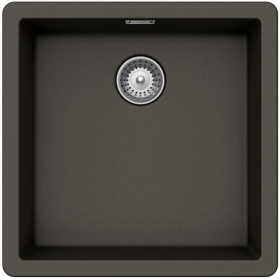 Кухонная мойка Schock BROOKLYN N-100 CRISTALITE+ Asphalt-43 (Серый)