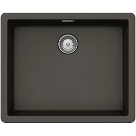 Кухонная мойка Schock BROOKLYN N-100L CRISTALITE+ Asphalt-43 (Серый)