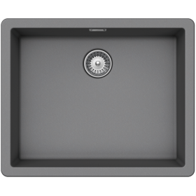 Кухонная мойка Schock BROOKLYN N-100L CRISTALITE+ Croma-49 (Серый)