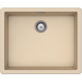 Кухонная мойка Schock BROOKLYN N-100L CRISTALITE+ Moonstone-22 (Бежевый)