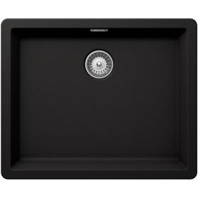 Кухонная мойка Schock BROOKLYN N-100L CRISTALITE+ Nero-13 (Черный)