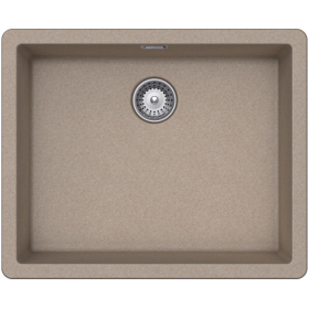 Кухонная мойка Schock BROOKLYN N-100L CRISTALITE+ Sabbia-58 (Песочный)