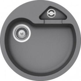 Кухонная мойка Schock CLASSIC R-100 CRISTALITE+ Croma-49 (Серый)