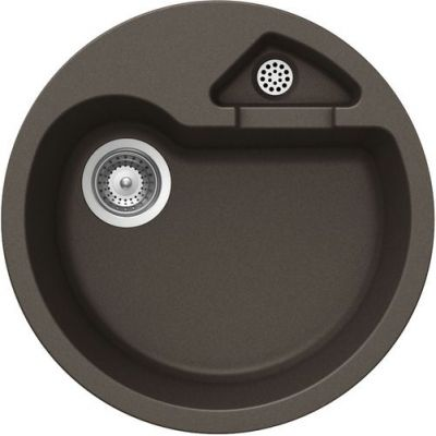 Кухонная мойка Schock CLASSIC R-100 CRISTALITE+ Mocha-63 (Коричневый)