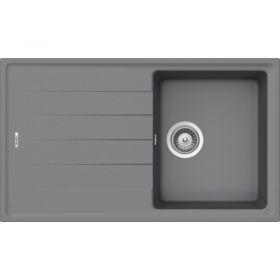 Кухонная мойка Schock ELEMENT D-100S CRISTALITE+ Croma-49 (Серый)