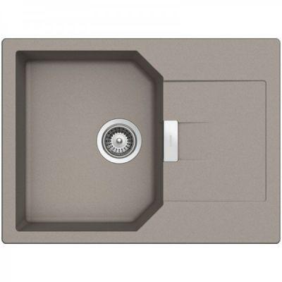 Кухонная мойка Schock MANHATTAN D-100S CRISTALITE+ Beton-42 (Серый)