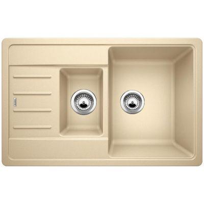 Кухонна мийка Blanco LEGRA 6S Compact SILGRANIT® шампань 521306