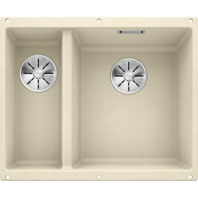 Кухонная мойка Blanco SUBLINE 340/160-U SILGRANIT® PuraDur® жасмин 523563