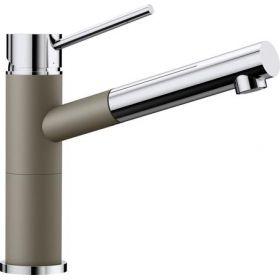 Кухонный смеситель Blanco ALTA - S Compact хром / серый беж 517634