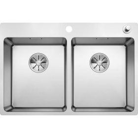 Кухонная мойка Blanco ANDANO 340/340-IF-A нержавеющая сталь 522997