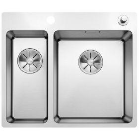 Кухонная мойка Blanco ANDANO 340/180-IF-A нержавеющая сталь 522996