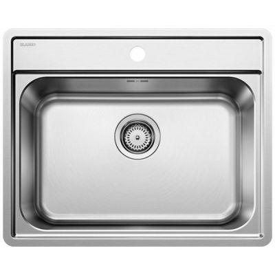 Кухонная мойка Blanco LEMIS 6 -IF нержавеющая сталь 525108
