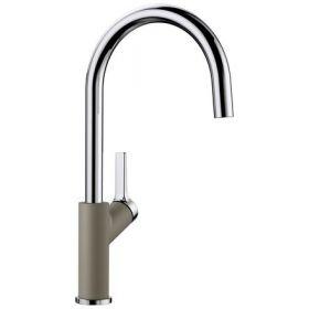 Кухонный смеситель Blanco CARENA серый беж 520978