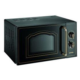 М./волновая печь Gorenje MO4250CLB/ 20 л / механическое управление/гриль 800 Вт/цвет-черный