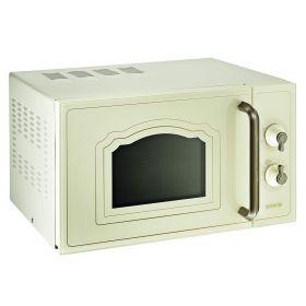 М./волновая  печь Gorenje MO 4250 CLI  /  20 л / механическое управление/гриль 800 Вт/цвет-бежевый