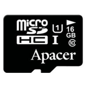 Карта памяти Apacer 16GB microSDHC C10 UHS-I + SD