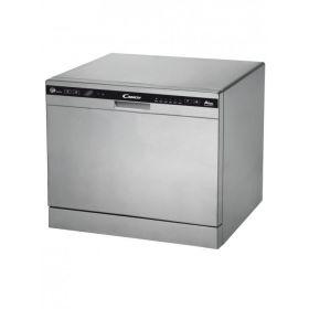 Посудомоечная машина Candy CDCP 8/ES /А+/55см/8 компл./6 программ/конденсационный/Дисплей/Серебро