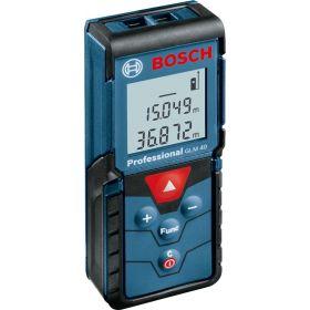 Дальномер лазерный Bosch Professional GLM 40,  ± 1.5 мм, 0,15-40м, синий