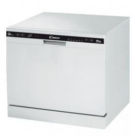 Посудомоечная машина Candy CDCP8/E-07 /А+/55см/8 комл. /6программм/конденсационный/Дисплей/Белый