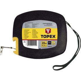 Лента измерительная TOPEX стальная, 20 м