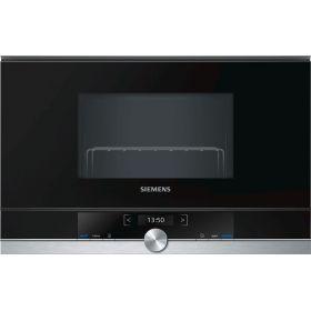 Встраиваемая микроволновая печь Siemens BE634LGS1 - 21л./900Ватт/гриль/10 прогр/TFT диспл/нерж.ст