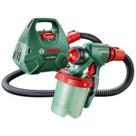 Краскопульт Bosch PFS 3000-2, 650 Вт, 300 мл/мин, контейнер 1Л, производит. 2 м?/мин, 2.8 кг