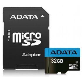 Карта памяти ADATA 32GB microSDHC C10 UHS-I + SD