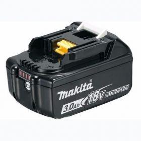 Аккумулятор Makita LXT BL1830B, Li-Ion, 18В, 3Ач, индикация разряда, 644 г