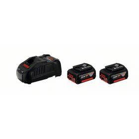 Аккумуляторные батареи с ЗУ Bosch 18 В 5Ач, набор 2 шт.