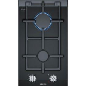 Варочная газовая поверхность домино Siemens ER3A6BD70 -30см/газ на стекле/2 конф/черный