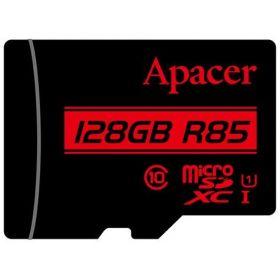 Карта памяти Apacer 128GB microSDHC C10 UHS-I R85MB/s + SD
