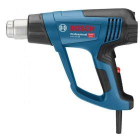 Фен строительный Bosch GHG 20-63 +АС, 2300 Вт, 50-650°C, поток воздуха 150 -500л/м, 0.89 кг