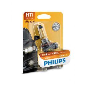 Лампа галогенная Philips H11 Vision, 3200K, 1шт/блистер
