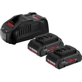 Аккумуляторные батареи с ЗУ Bosch ProCORE18V*4.0Ah, набор 2 шт.