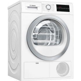 Сушильный барабан Bosch WTG86401OE - 60см/конденсационный/9кг/дисплей/В/белый