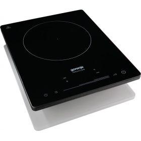 Индукционная плитка Gorenje ICE2000SP/1 зона нагрева/8 уровней мощности/сенсорное управление/черная