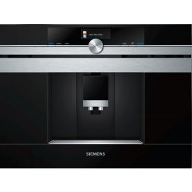 Встраиваемая кофемашина Siemens CT636LES1 -19Бар/1600Вт/дисплей/черный