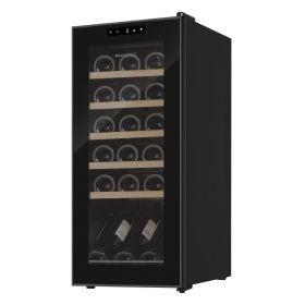 Винотека Philco PW18KF/18 бутылок/температур 10-18 С/Led-подсветка/сенсор/дисплей/черный