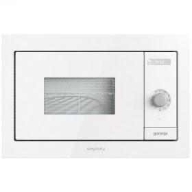 Встраиваемая м/печь Gorenje BM235SYW/23 л/900 Вт. /гриль-1200 Вт./электронное упр./дисплей/белая