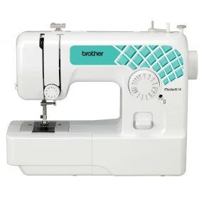 Швейная машина BROTHER ModerN 14, электромех., 50 Вт, 14 швейных операций, петля полуавтомат, белый