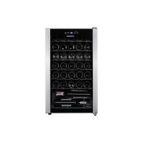 Винный шкаф Ardesto WCF-M34 84 см/34 бутылки/А/темп. 5-18С/Led-подсветка/дисплей/черный
