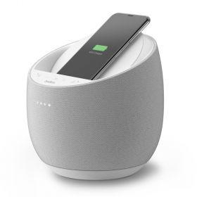 Смарт спикер Belkin + беспроводная зарядка Devialet Soundform Elite, white